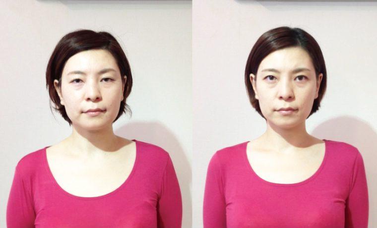左右対称 顔 5