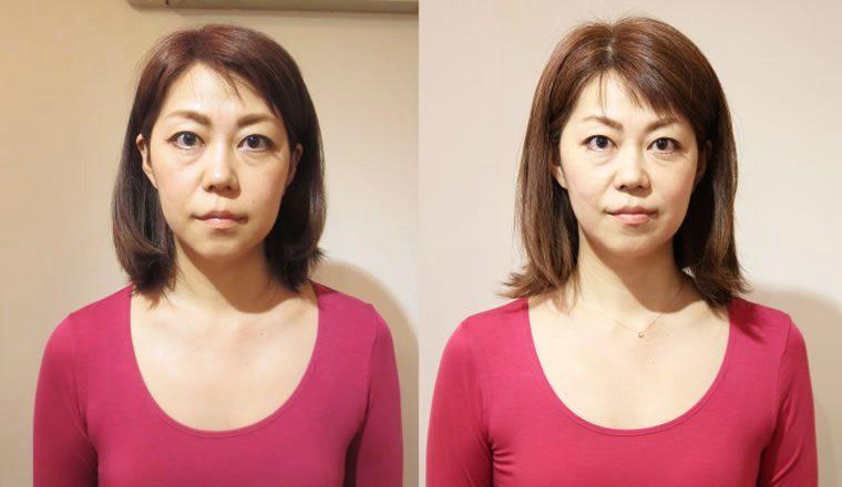 左右対称 顔2