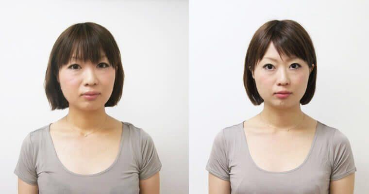 左右対称 顔3